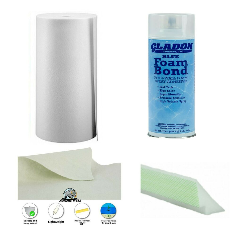 Above Ground Swimming Pool Liner Kit Includes Wall Foam