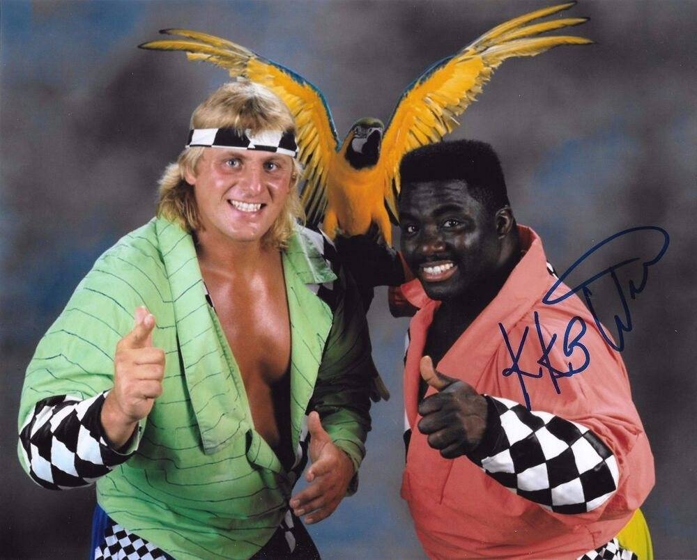 koko b ware wwe wwf signed autograph 8x10 photo 3 ebay. Black Bedroom Furniture Sets. Home Design Ideas