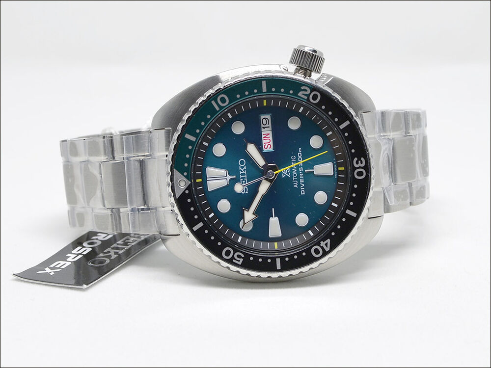 Fant stico seiko prospex green turtle limited edition for Macchina da cucire seiko special
