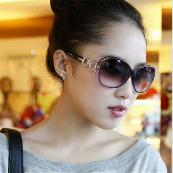 Retro Vintage Eyewear Oversized Women Fashion Designer Sunglasses Glasses
