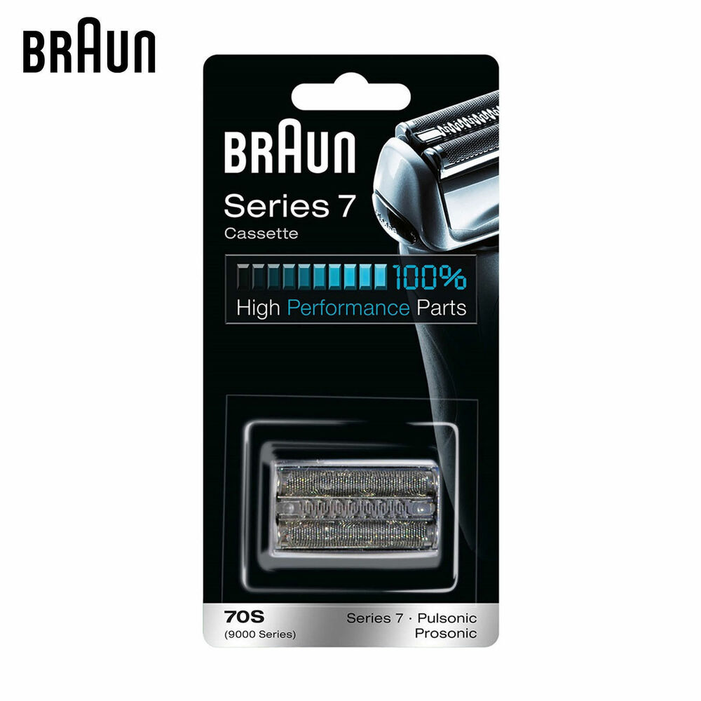 braun 70s series 7 electric shaver replacement foil and. Black Bedroom Furniture Sets. Home Design Ideas