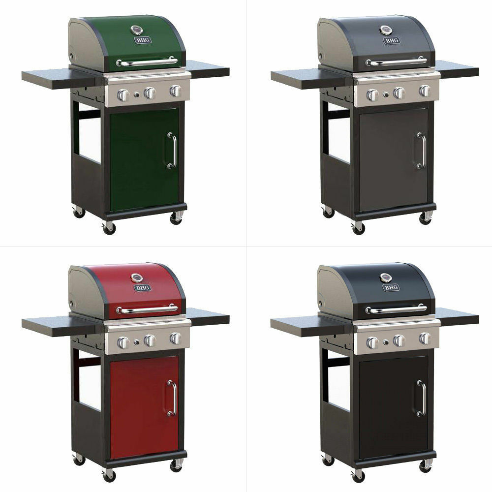 3 burner bbq grill lp propane natural gas stainless portable barbecue outdoor ebay. Black Bedroom Furniture Sets. Home Design Ideas