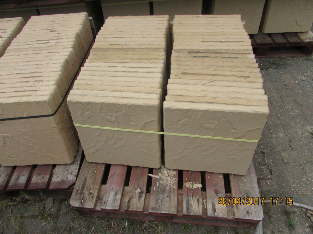 Concrete garden patio paving slabs 38mm thick ebay for Garden decking and slabs