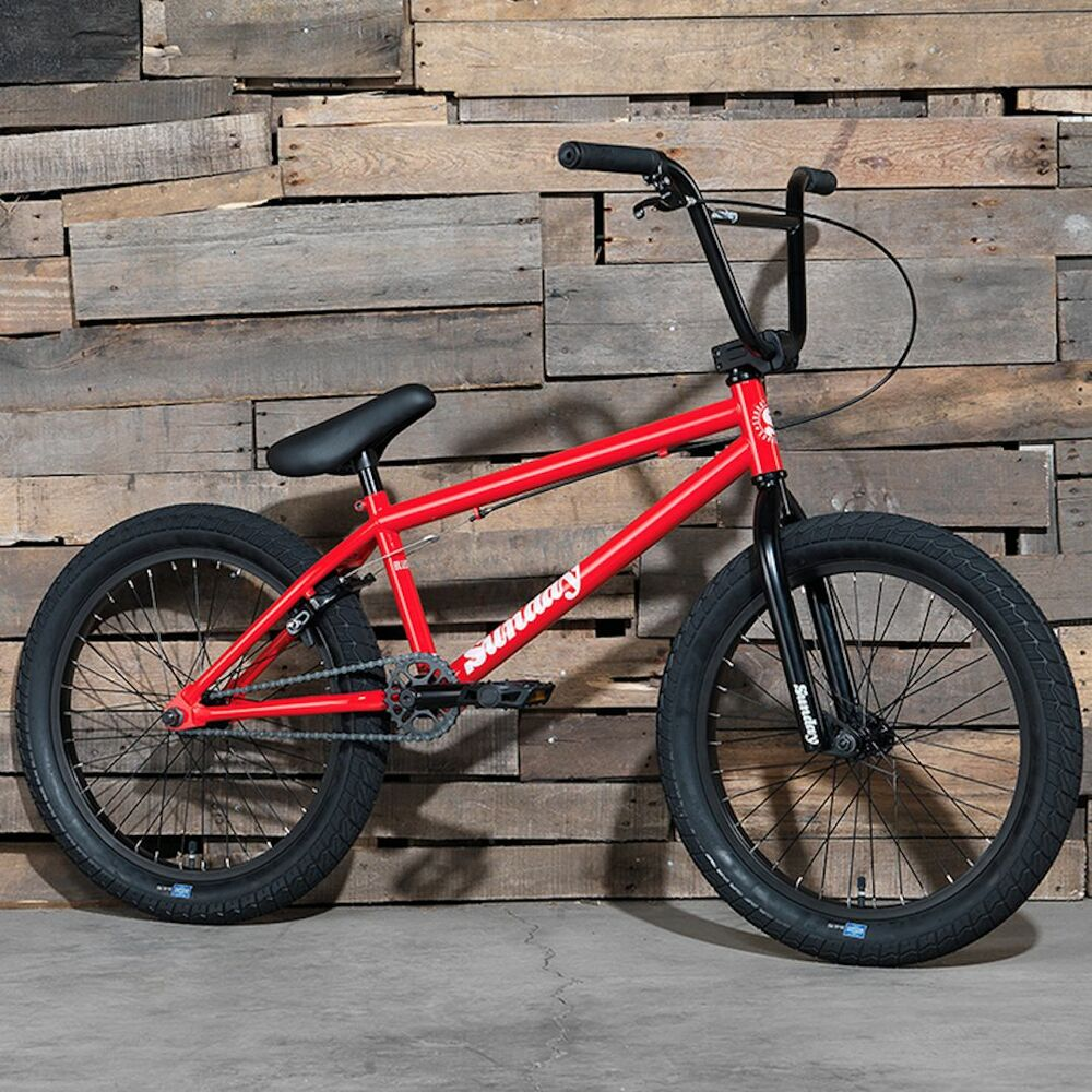2017 sunday bike bmx blueprint 20 red bicycle fit cult for Bmx store