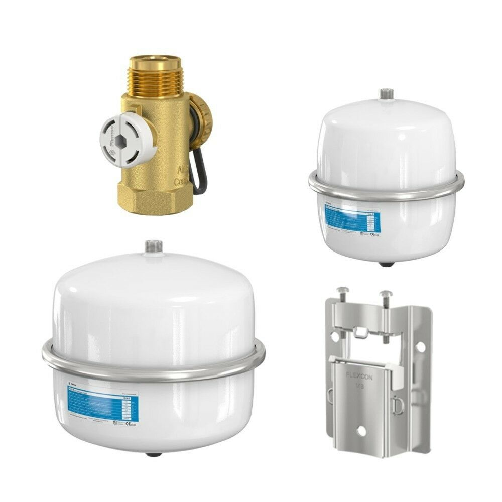 flamco expansion tank drinking water pressure vessel airfix a 8 12 18 25 l ebay. Black Bedroom Furniture Sets. Home Design Ideas