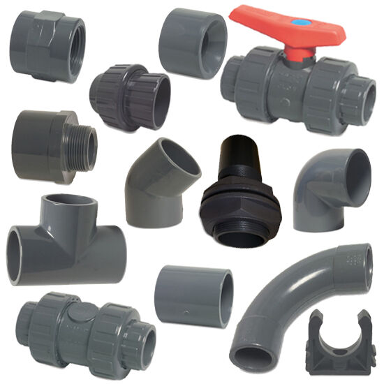 Pvc imperial solvent weld pressure pipe fittings quot to