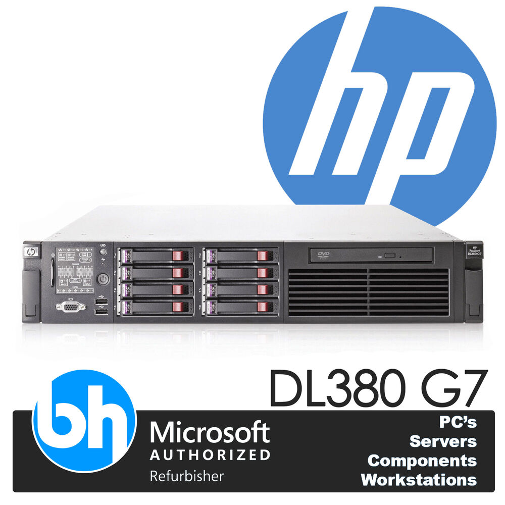 hp twin quad core xeon e5620 proliant dl380 g7 24gb ddr3 ram server ebay. Black Bedroom Furniture Sets. Home Design Ideas