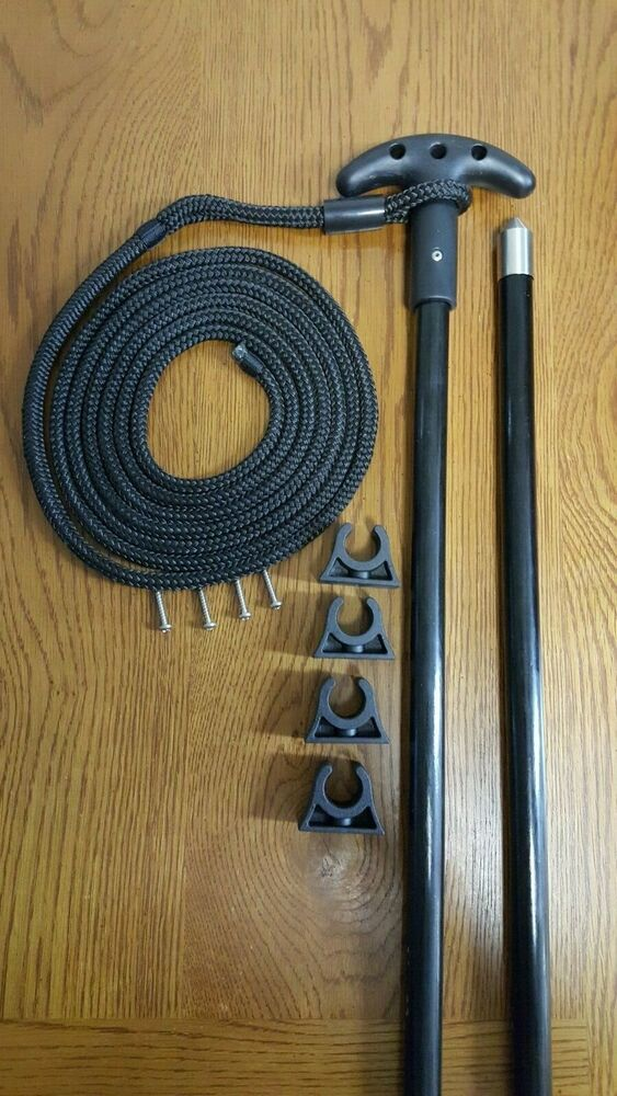 8 Ft 1pc Shallow Water Stick Anchor Pin Anchor Pole