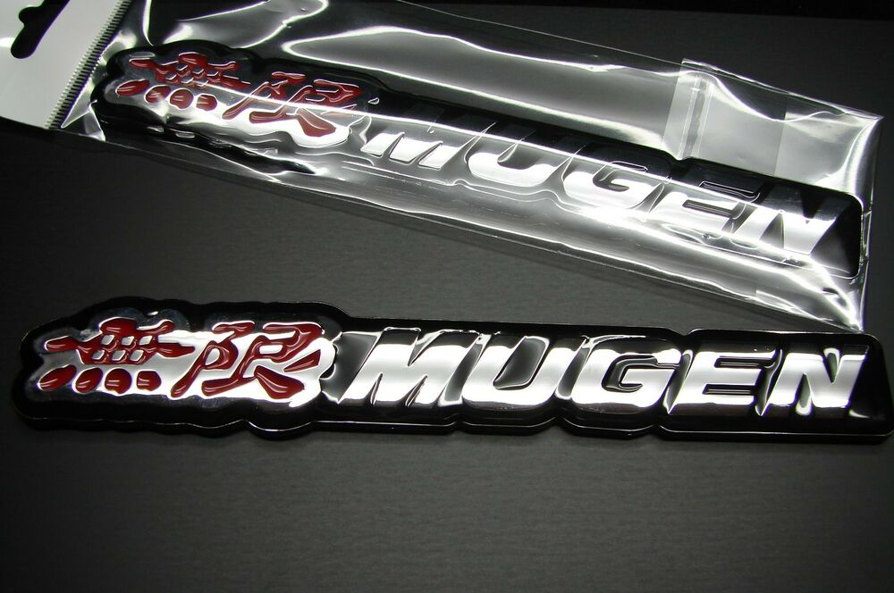 3d Mugen Emblem Badge Decal Sticker For Honda Acura Us Seller 6 1 4 Quot Ebay