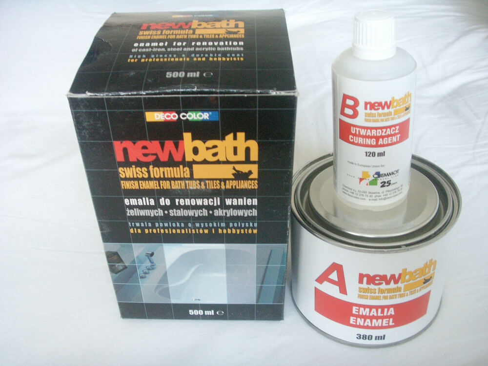 White Quick Dry Enamel Bath Sink Paint Tubs Tiles