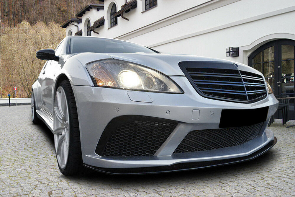 Mercedes benz s w221 amg s500 s550 s600 black body kit ebay for Mercedes benz s 600 amg