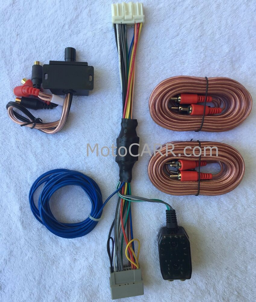 Bass Wiring 4 Knob Unlimited Access To Diagram Information Chrysler Dodge Jeep Factory Radio Add A Sub Amp Plug Play Harness Ebay And Tube Electrical