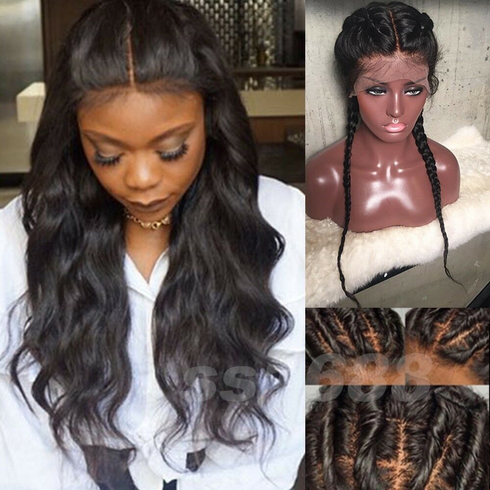 8a 1b Pre Plucked 360 Lace Frontal Wigs Peruvian Wave Full