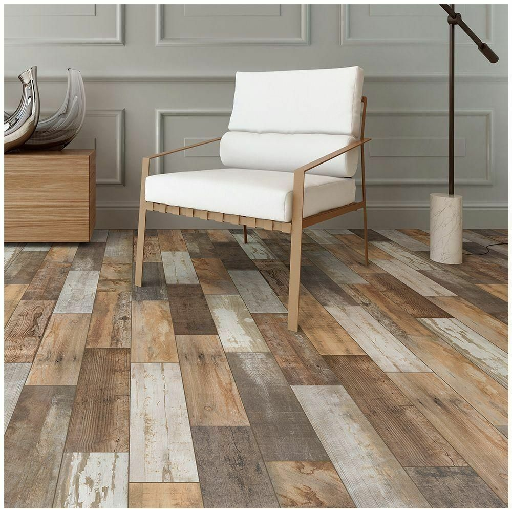 Floor tile ebay porcelain floor shower wall kitchen backsplash wood look tile flooring dailygadgetfo Choice Image