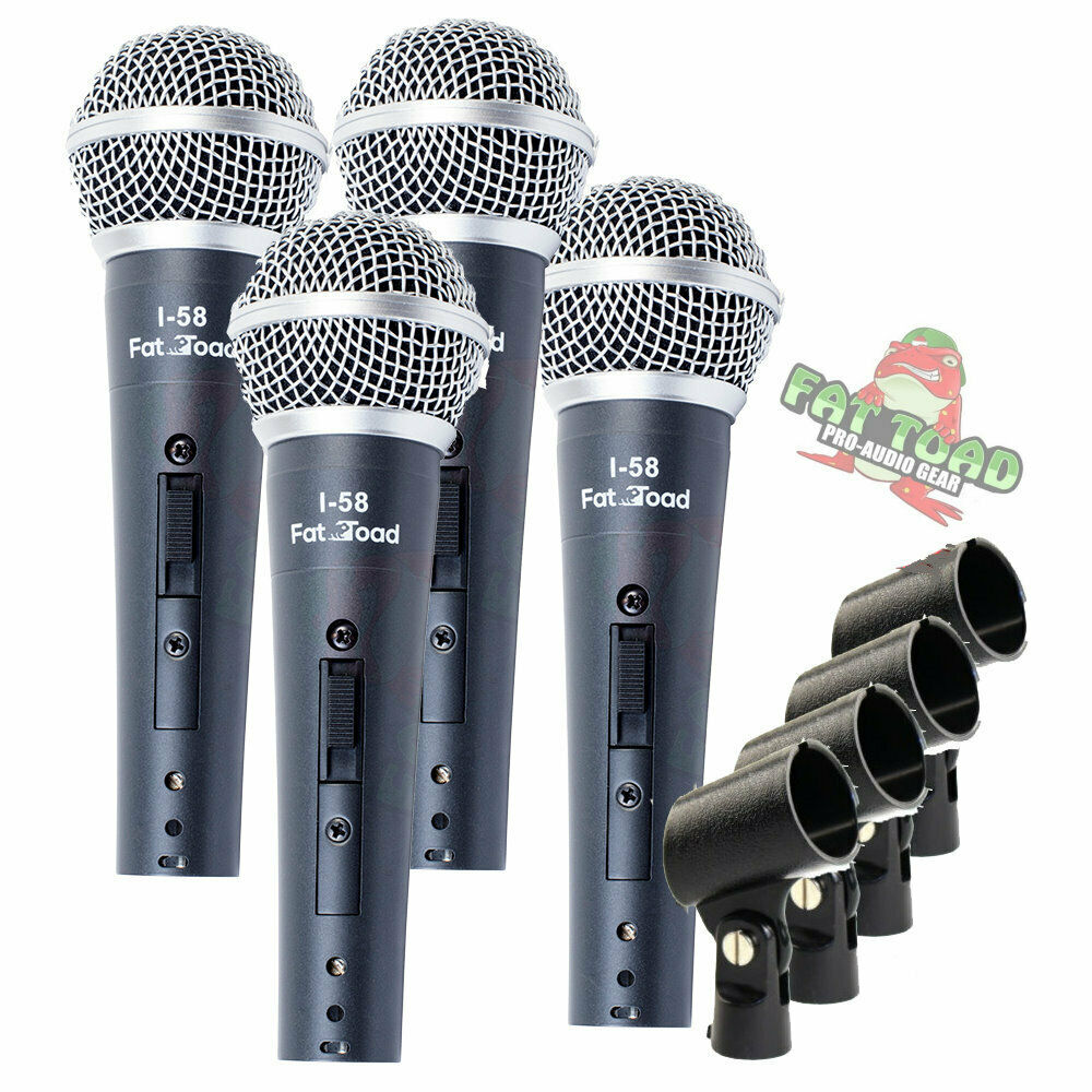 dynamic vocal microphones cardioid singing handheld recording stage mic pack 609132684265 ebay. Black Bedroom Furniture Sets. Home Design Ideas