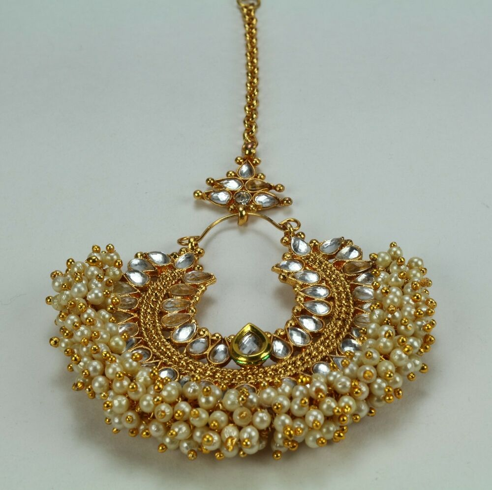 Indian Fashion Jewelry Bollywood Bridal Gold Plated Cz: Indian Fashion Jewelry Gold Plated Wedding Bridal Fore