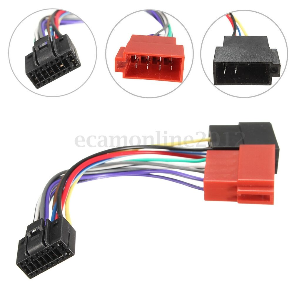 for kenwood 16 pin car stereo radio iso wiring harness. Black Bedroom Furniture Sets. Home Design Ideas