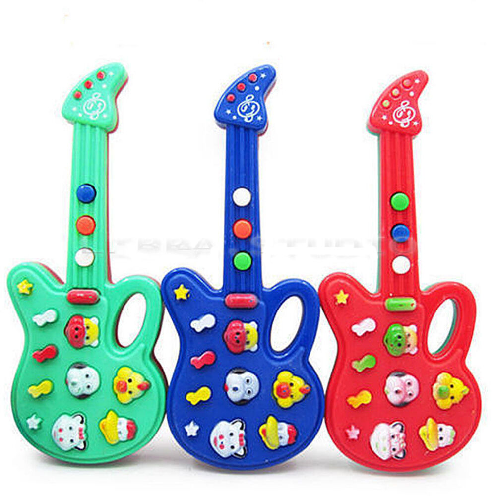 Pop Baby Kids Electronic Guitar Educational Rhyme