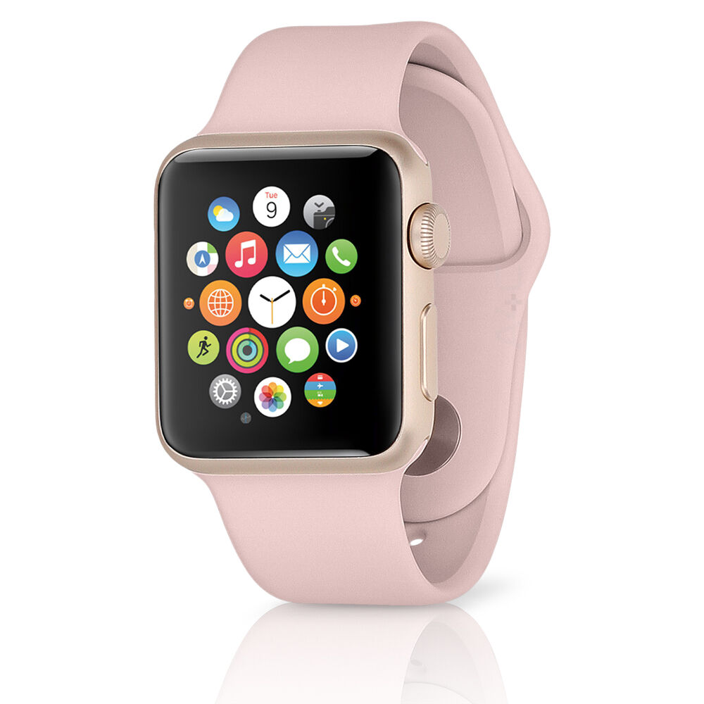 Apple Watch Sport W 38mm Rose Gold Aluminum Case Amp Pink