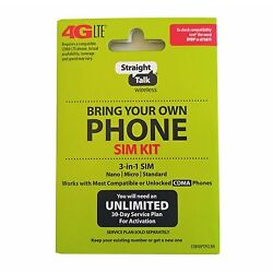 Kyпить Straight Talk SIM Card For VERIZON Tower CDMA Network Activation Kit на еВаy.соm