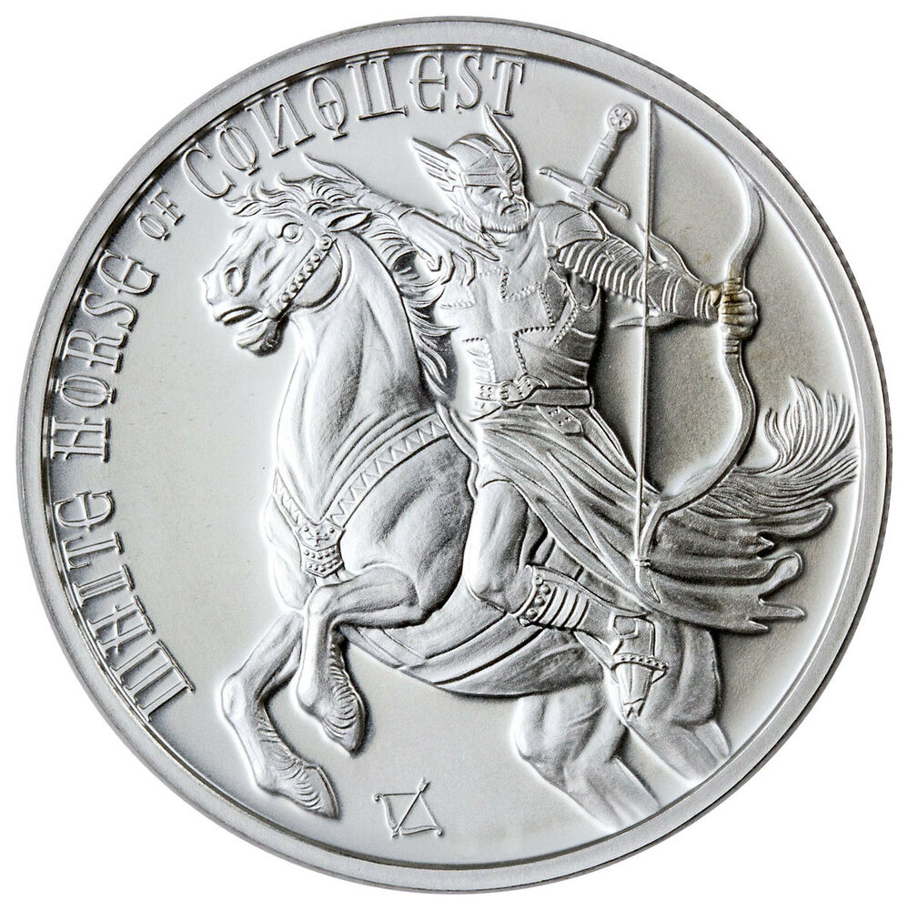 Golden Mint Four Horsemen Apocalypse Horse Conquest 1 Oz