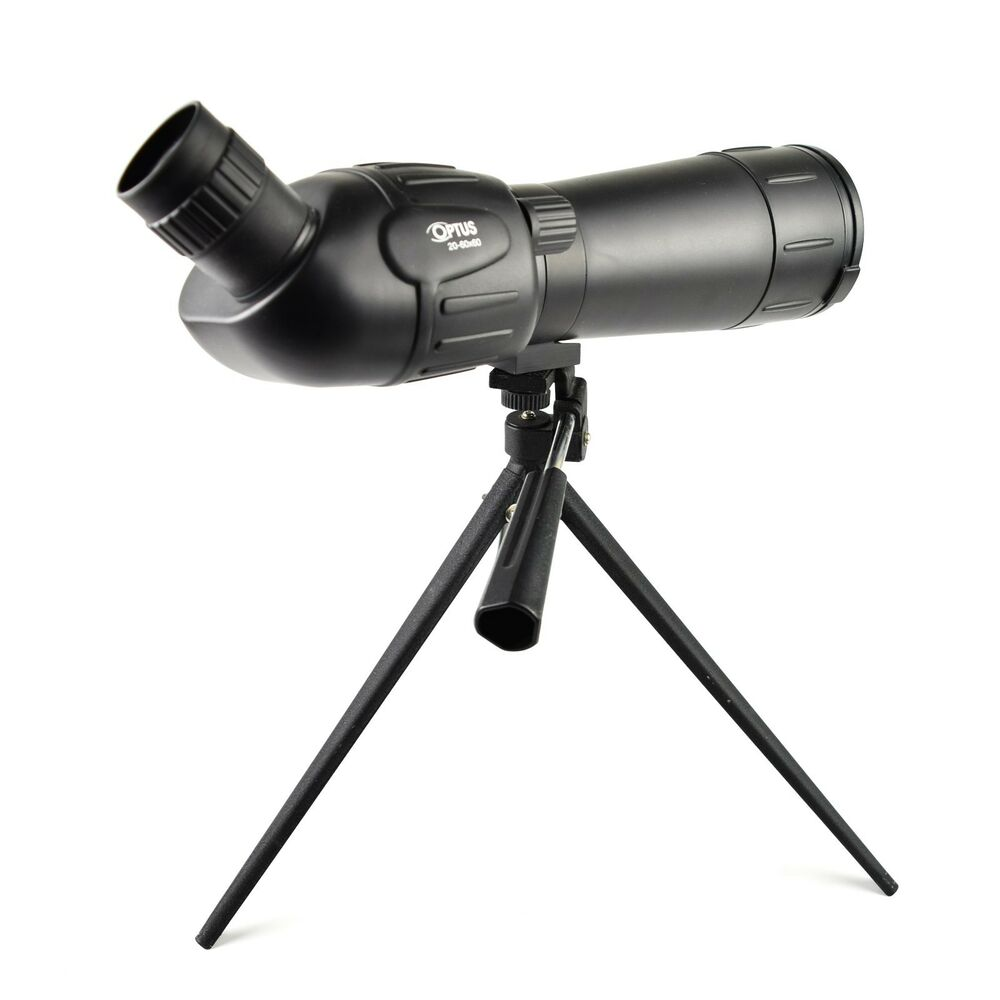 Details About Monocular Optus 20 60x60 Spotting Scope