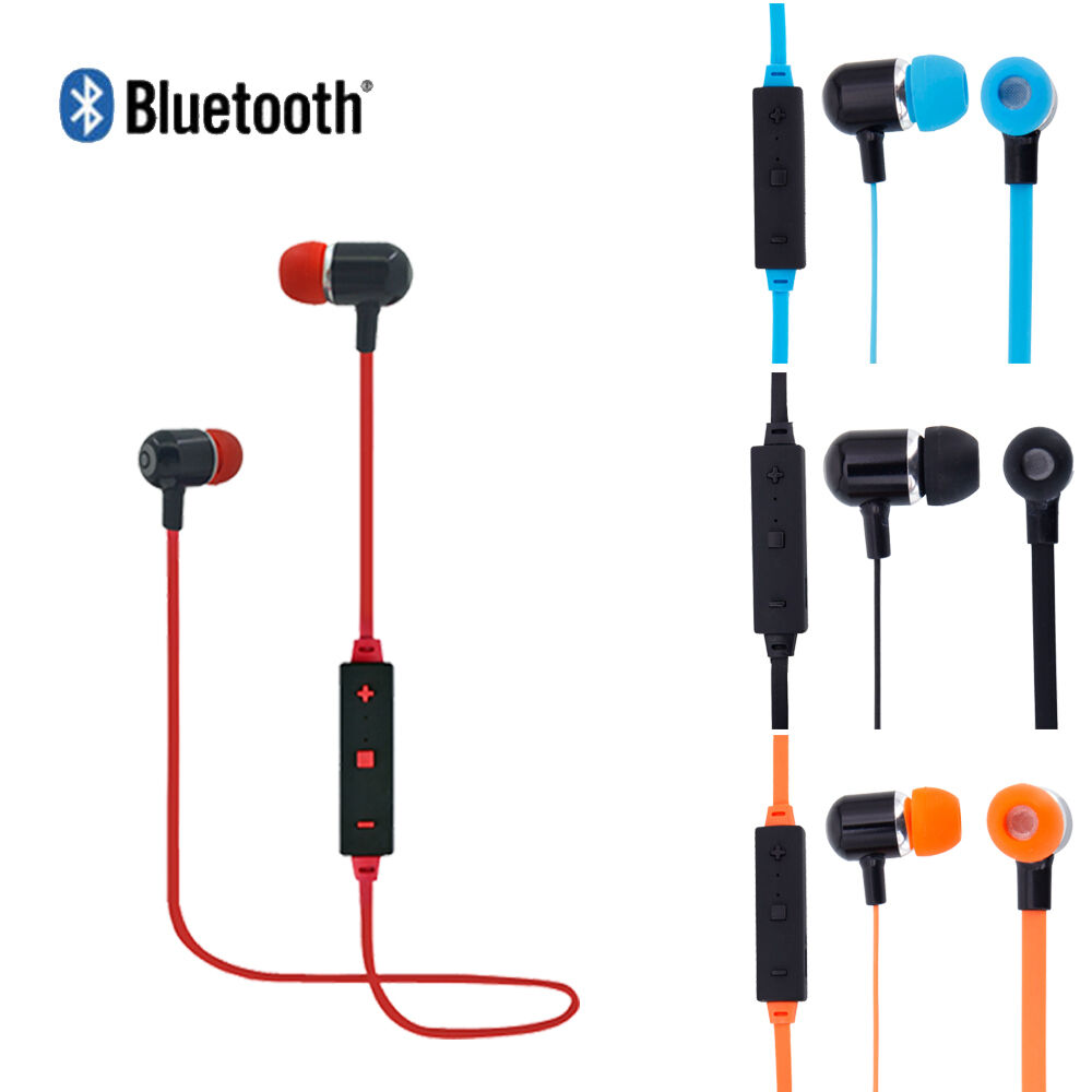 bluetooth 4 1 wireless stereo earphone headset headphones earbud for iphone 7 6s ebay. Black Bedroom Furniture Sets. Home Design Ideas