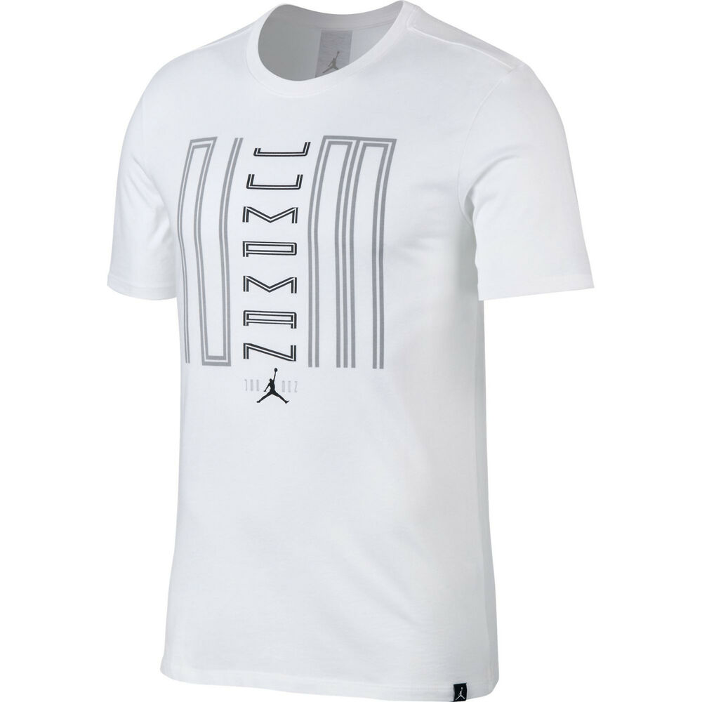 747911e8ef54 Details about Nike Men s Air Jordan XI 11 Jumpman 23 T-Shirt Tee White S-XXL