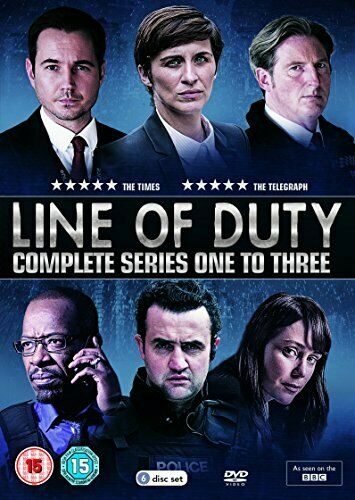 Line Of Duty: Series 1-3 [DVD] - DVD  KOVG The Cheap Fast Free Post