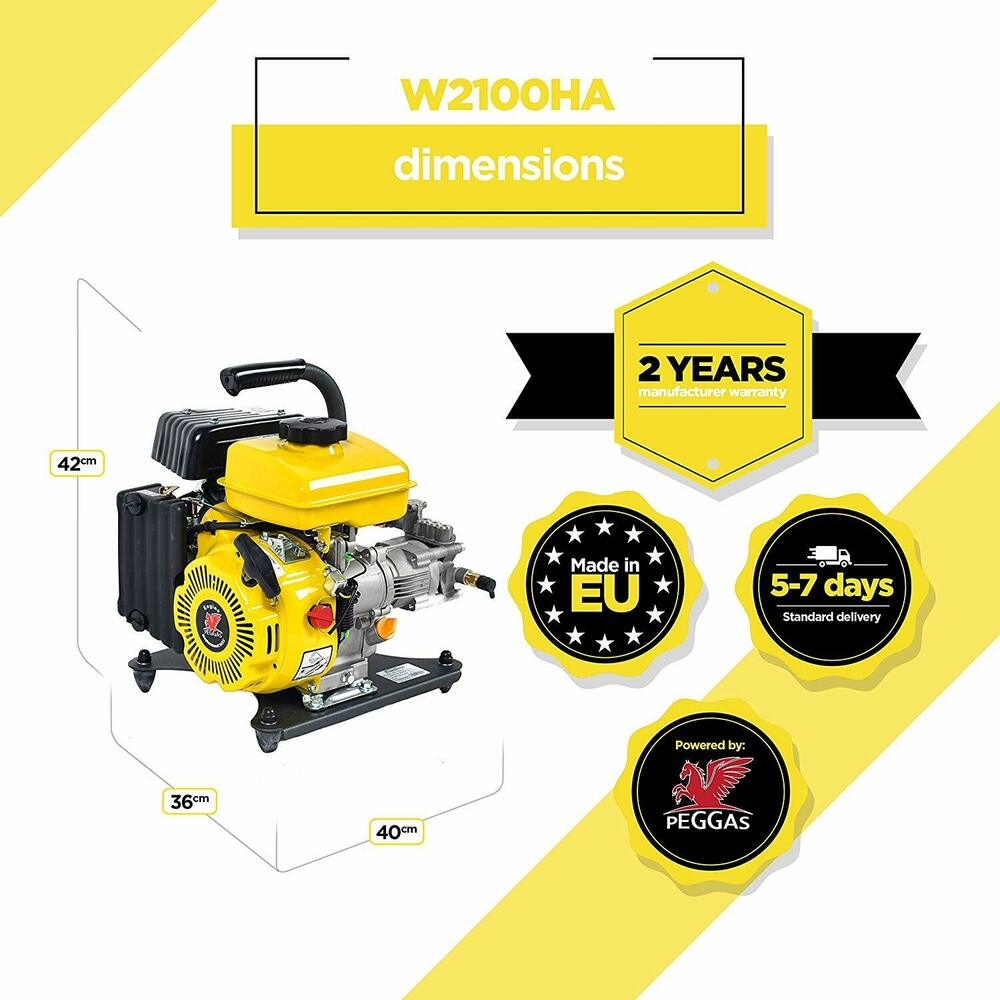 Gas Powered Cold Water High Pressure Washer Waspper