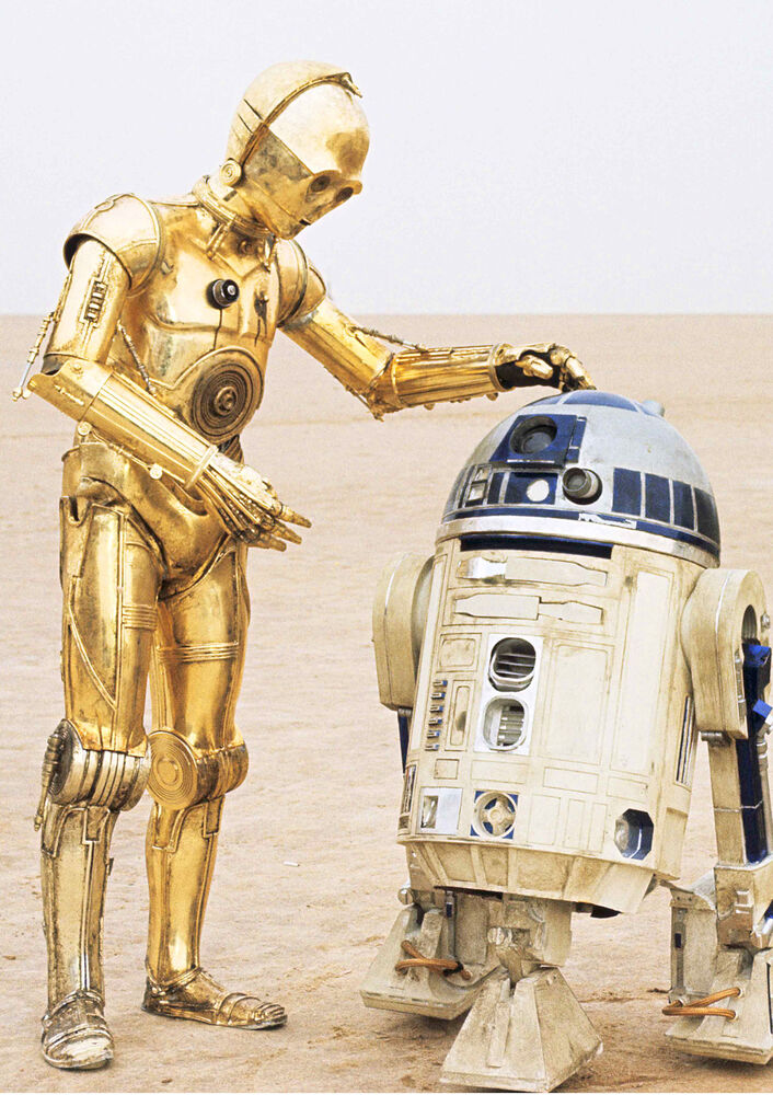 R2d2 And C3po Star Wars Poste...