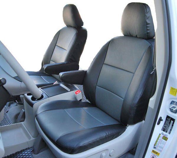 VOLKSWAGEN ROUTAN 2009 2012 IGGEE SLEATHER CUSTOM FIT SEAT COVER 13 COLORS