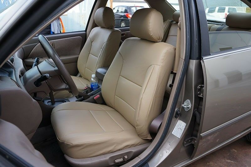 Toyota camry 1997 2001 iggee s leather custom fit seat - 1998 toyota camry interior parts ...
