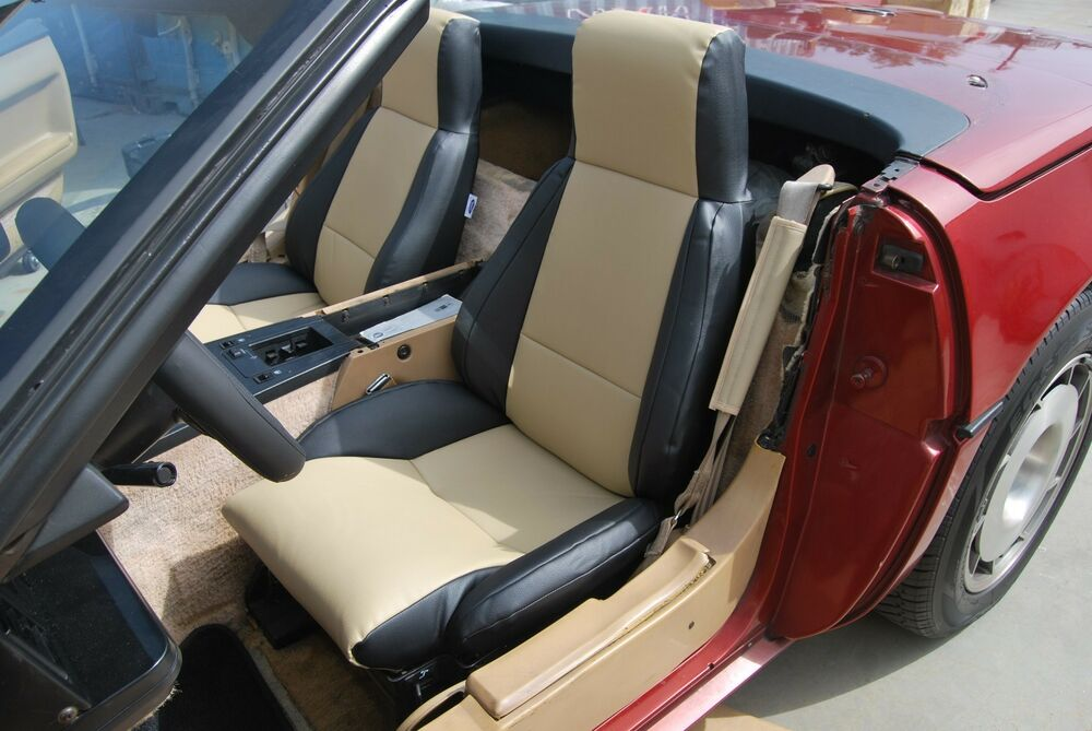 Chevy Corvette C4 1984 1993 Iggee S Leather Custom Fit