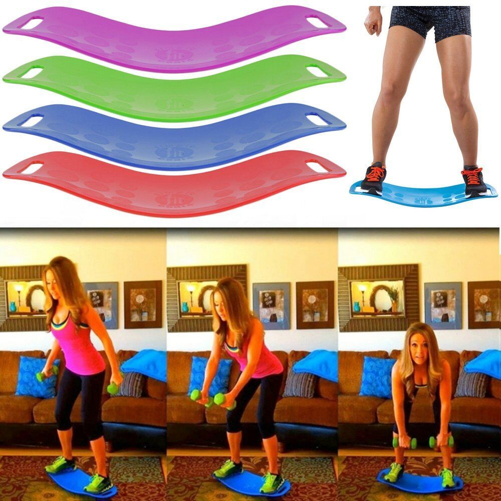 Balance Board Workout: Simply Fit Twist Balance Board As Seen On TV Yoga Fitness