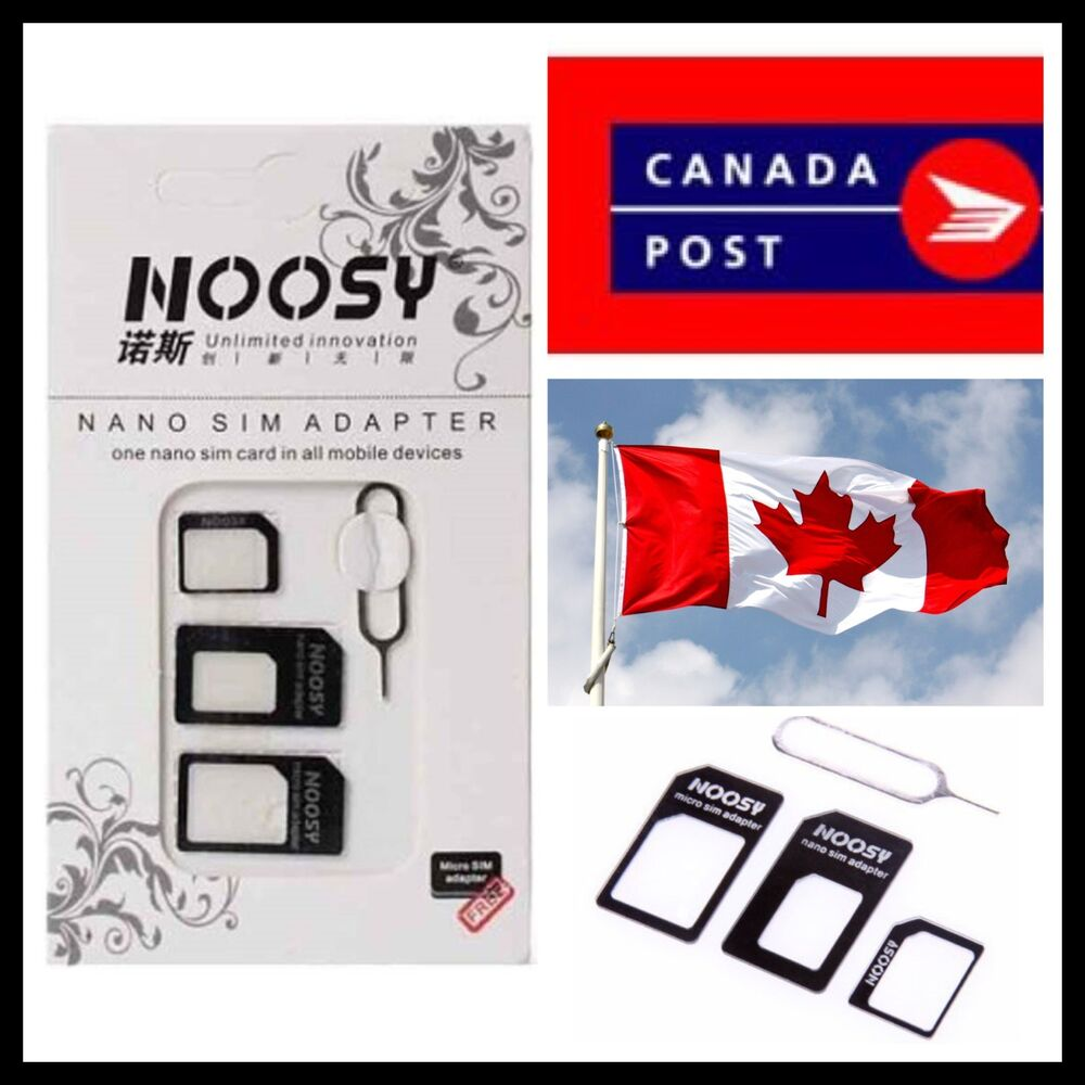 Noosy Nano Sim Card To Micro Standard Adapter Buy 2 Get 1 3 In Original Free Ebay