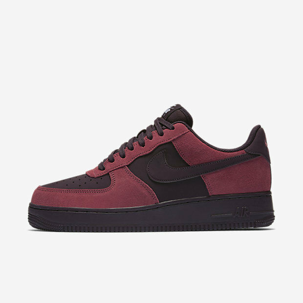 new products 3c4db 5a6db Details about New Men s Nike Air Force 1 Low Shoes (820266-605)  Port White Black Port Wine