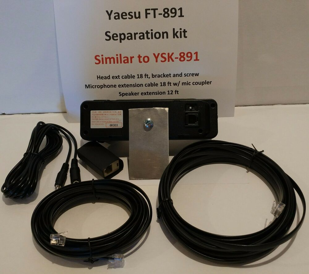 YAESU FT-891 SEPARATION KIT FOR, similar YSK-891, mic, head, speaker  extension | eBay