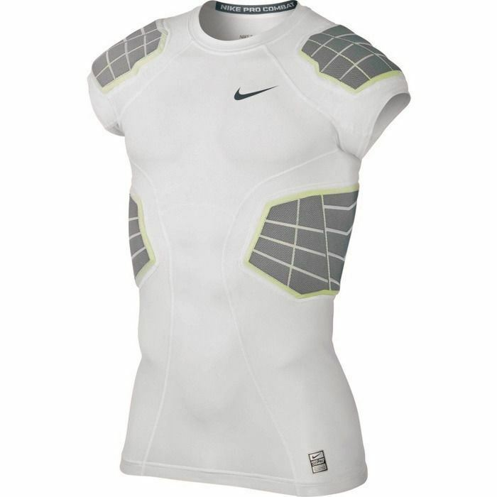 abce91e8f NIKE Pro Combat Hyperstrong 3.0 Compression 4 Pad Football Shirt Mens S M L  XL