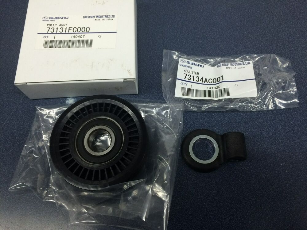 Subaru Ac Pulley Belt Tensioner Kit Wrx Impreza Sti