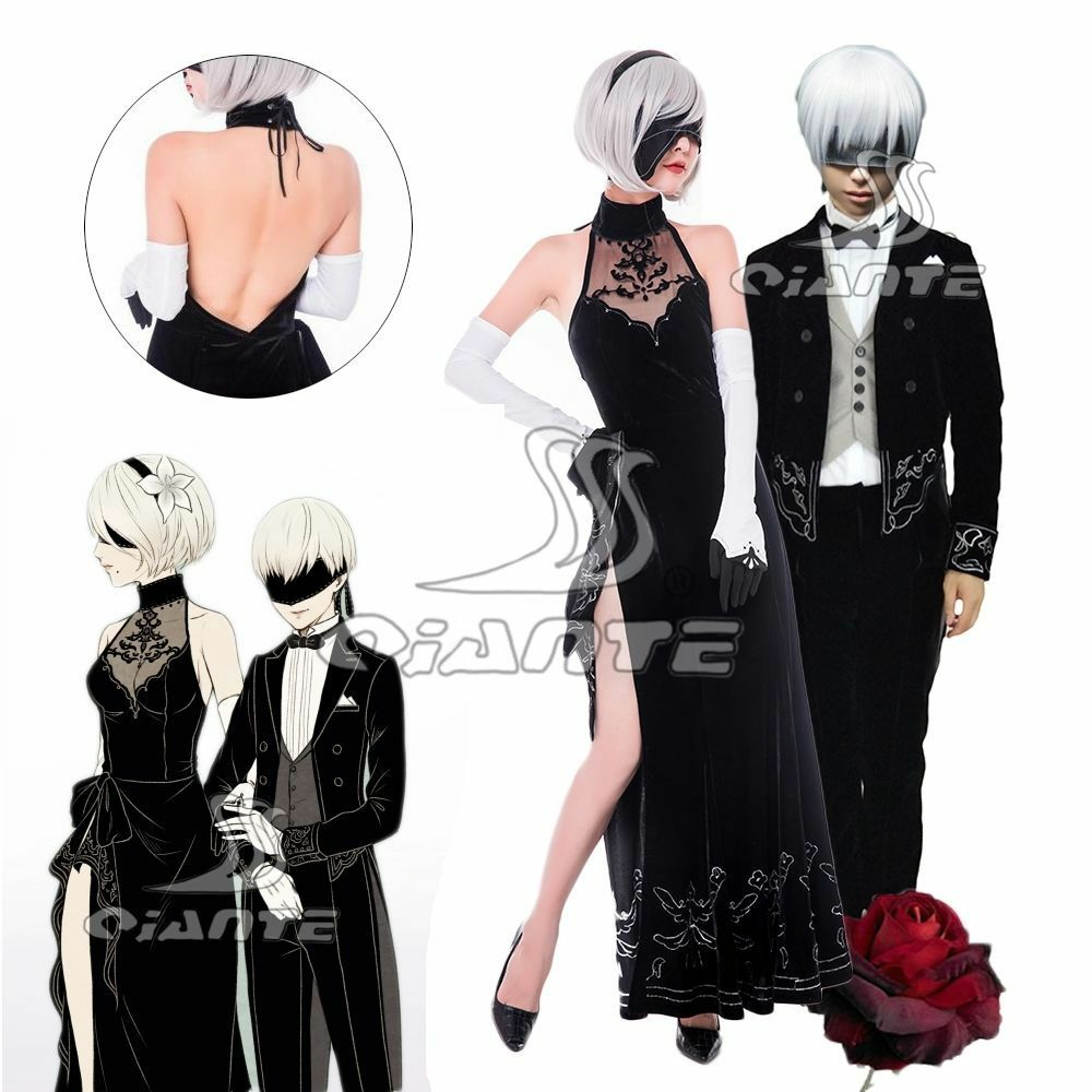 2b and 9s cosplay