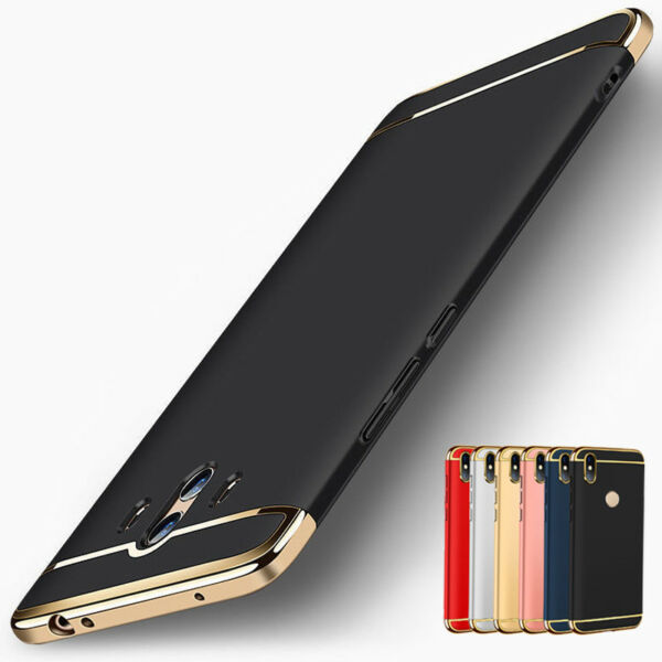 Luxury Shockproof Plating Hybrid Case Cover For Huawei Mate 20 Pro P20 P30 Lite