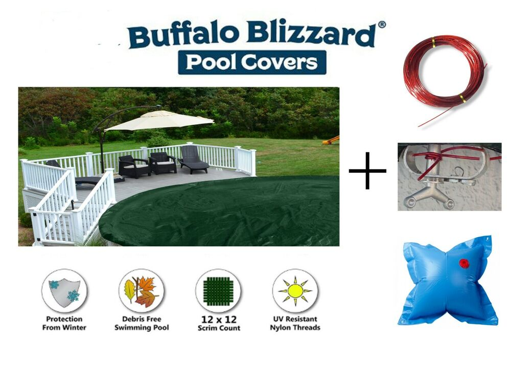 Above Ground Round Ripstopper Swimming Pool Winter Covers