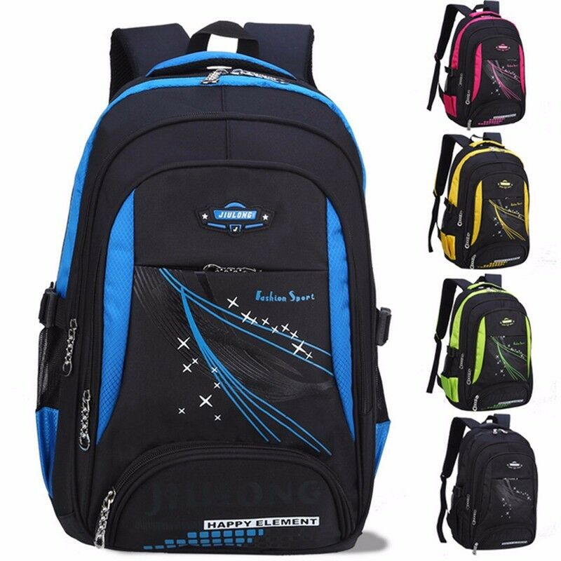 3ff4277d7ae3 Backpack Children School Bags Teenagers Boys Girls Orthopedic School  Waterproof