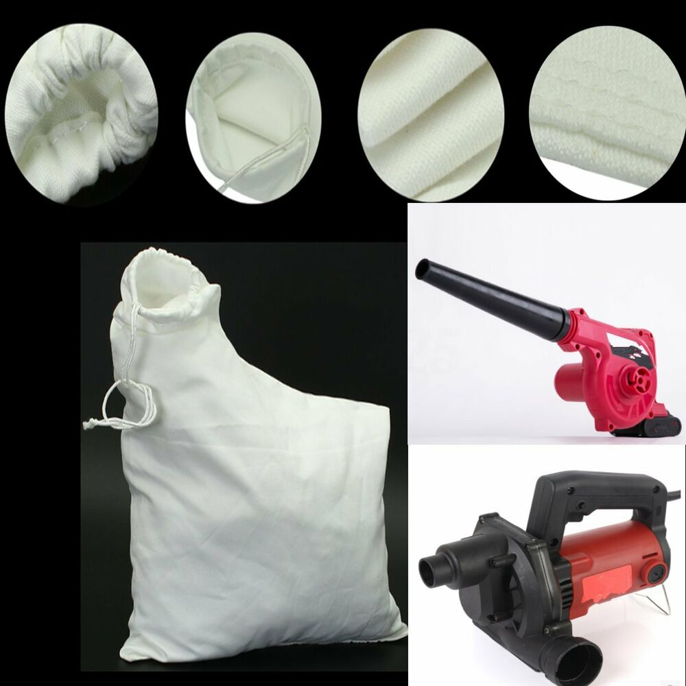 Polyester White Replacement Spare Leaf Blower Vac Vacuum