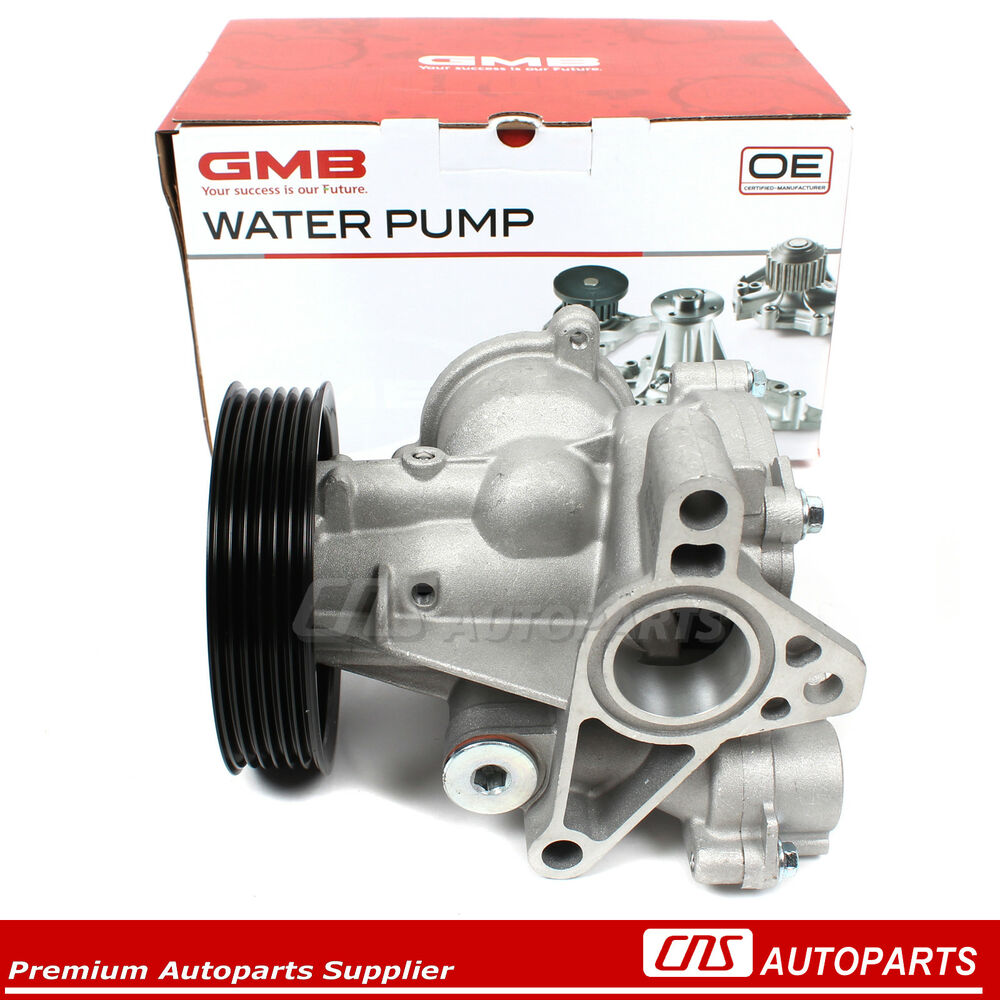 gmb water pump fits 09 16 suzuki grand vitara kizashi sx4. Black Bedroom Furniture Sets. Home Design Ideas