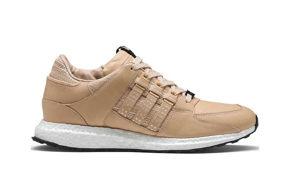 timeless design c8f36 a6ef7 Details about Adidas Consortium x Avenue Equipment Support 93 16 Leather Tan  White CP9640