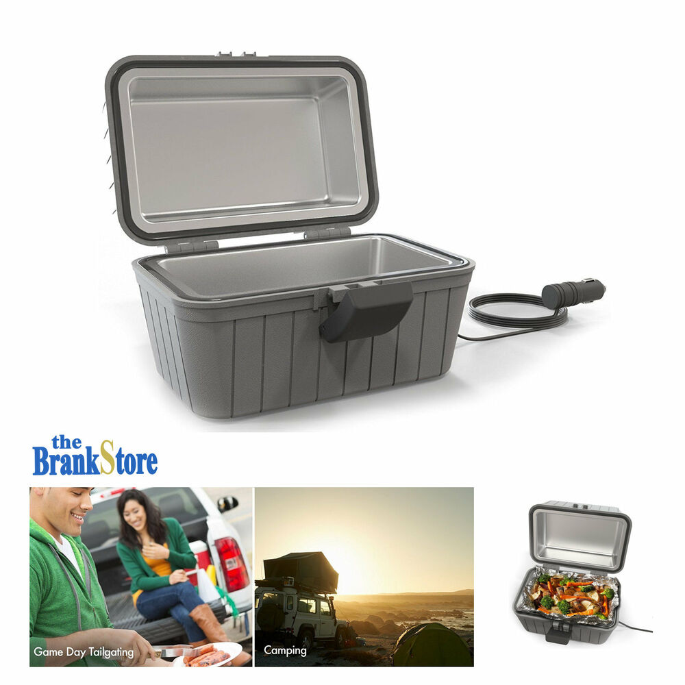Electric Lunch Box Car Food Warmer 12 Volt Heated Meal