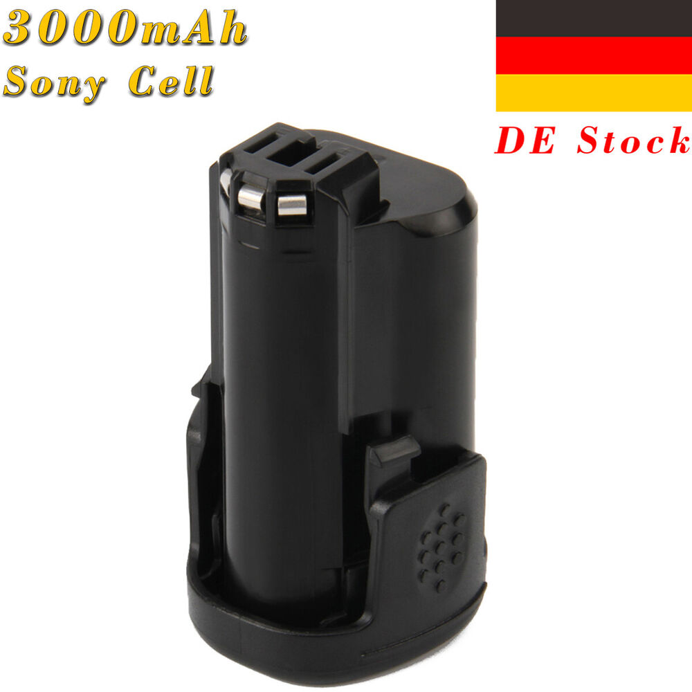 creabest 12v 3000mah li ionen akku batterie f r dremel. Black Bedroom Furniture Sets. Home Design Ideas