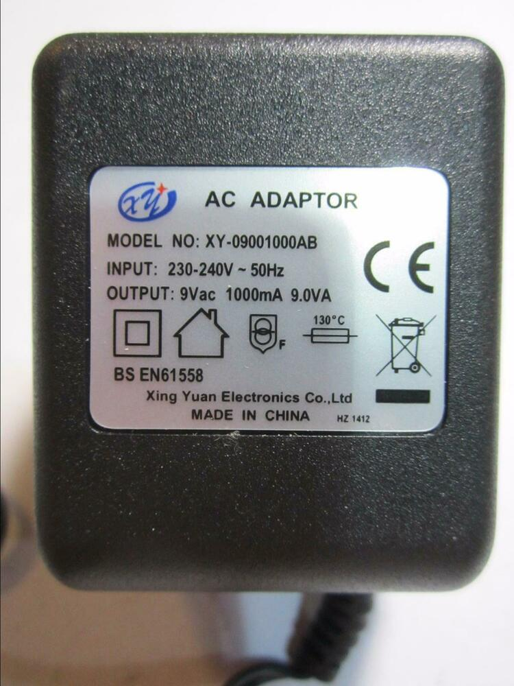9v Mains Ac Ac Adaptor For Digitech Rp250 H Pro Ps0913b